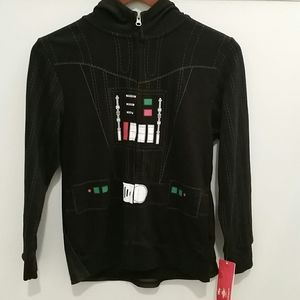 Disney Star Wars Hoodie with Removable Cape Medium